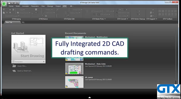 GTXImage Cad Series Overview video